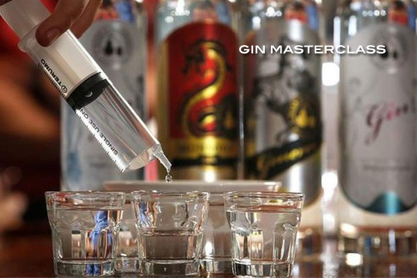 Spirits Tastings and Gin Masterclass
