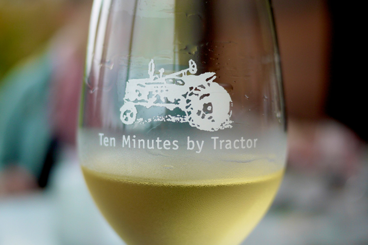 Ten Minutes By Tractor wine tasting