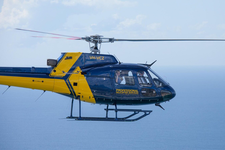 Professional Helicopter Services tours