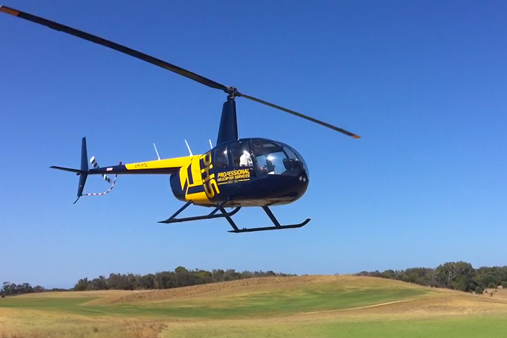 Helicopter Golf tour