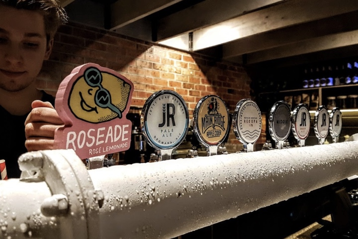 JR brewery on tap